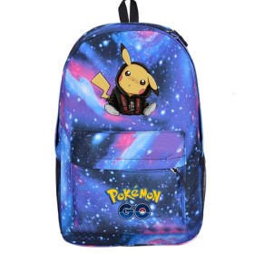 Pikachu Backpack Schoolbag Bookbag Bag Pack Handbag Bookbag 2