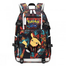 Pokemon Pikachu Backpack Schoolbag Bookbag Bag Pack Handbag Bookbag 4