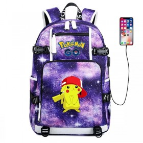 Pokemon Pikachu Backpack Schoolbag Bookbag Bag Pack Handbag Bookbag 1